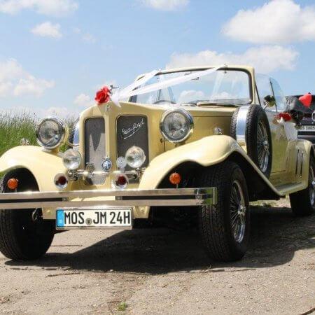 Beauford Oldtimer Hochzeitsauto