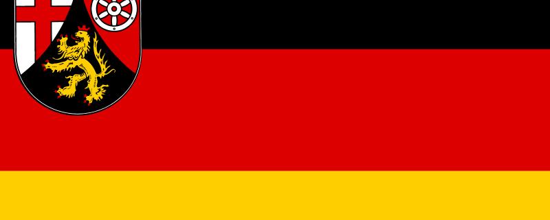 Rheinland-Pfalz Flagge