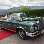 1 Mercedes Cabriolet von 1965