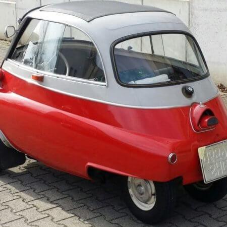 Oldtimer Hochzeitsauto BMW Isetta