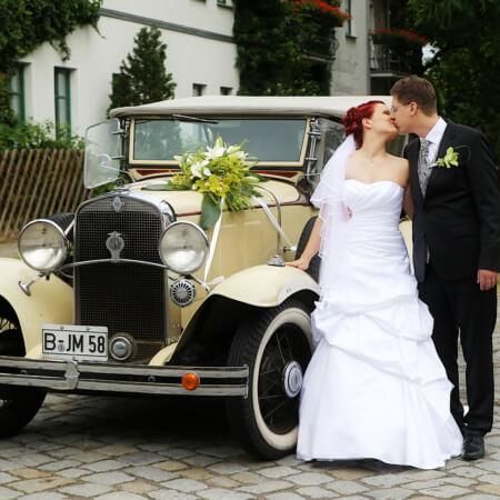 Chevrolet Oldtimer Hochzeitsauto