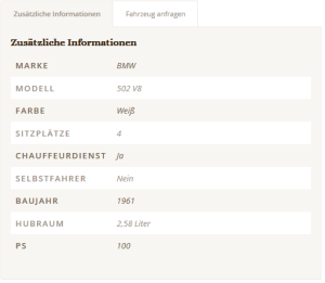 BMW Barockengel Details