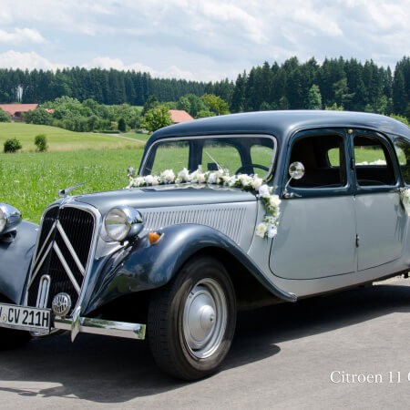 11CV-Commerciale Oldtimer Hochzeitsauto