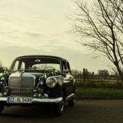 Mercdes Oldtimer Hochzeitsauto