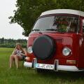 VW BUS T2a Camper Oldtimer Hochzeit