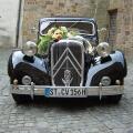 Citroen 15CV Oldtimer Hochzeitsauto