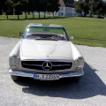 Mercedes Oldtimer Hochzeitsauto