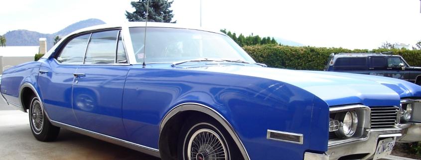 Oldsmobil Oldtimer Hochzeitsauto