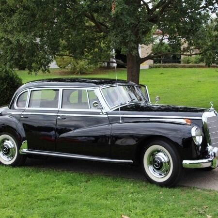 Oldtimer Hochzeitsauto Mercedes