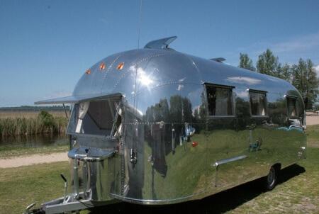 Airstream Wohnwagen Oldtimer