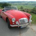 MG Oldtimer Hochzeitsauto