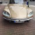 Oldtimer Hochzeitsauto Citroen DS Pallas