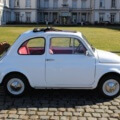 Fiat 500 Oldtimer Hochzeitsauto