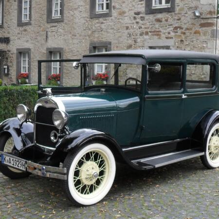 Ford A oldtimer Hochzeitsauto
