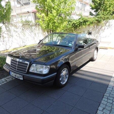 Mercedes Cabrio Oldtimer Hochzeitsauto