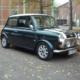 Mini Cooper Oldtimer Hochzeitsauto