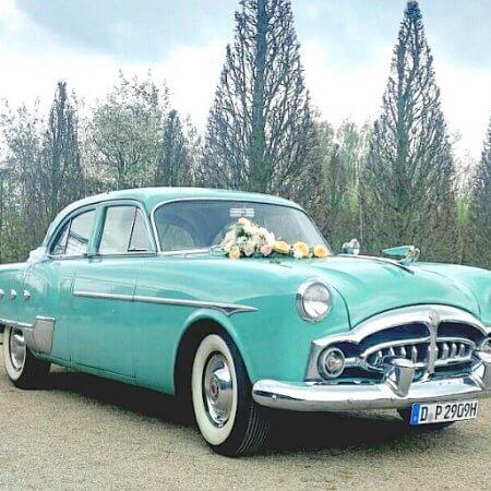 Packard Oldtimer Hochzeitsauto