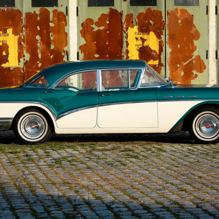 Buick Oldtimer Hochzeitsauto