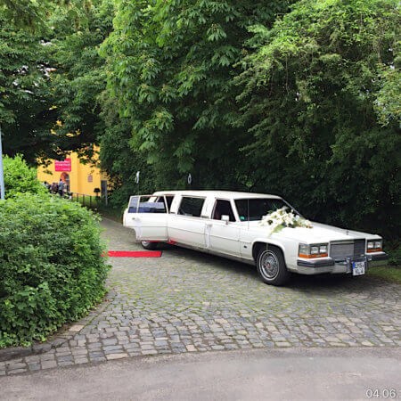 Cadillac Fleetwood Stretchlimousine Oldtimer Hochzeitsauto