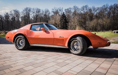 Corvette Oldtimer Hochzeitsauto