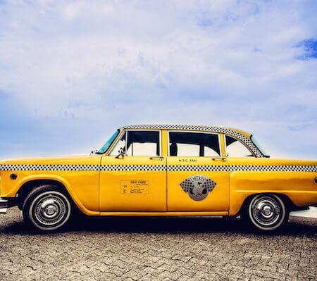 New York Taxi Oldtimer Hochzeitsauto