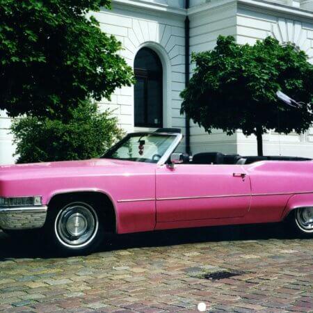 Cadillac de Ville Oldtimer Hochzeitsauto