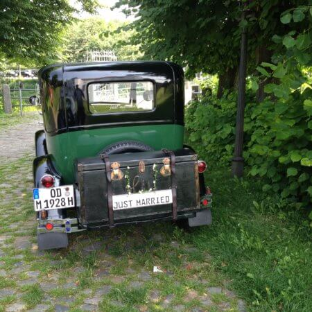 Ford A Modell Oldtimer Hochzeitsauto