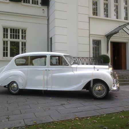 Rolls Royes Phantom Oldtimer Hochzeitsauto