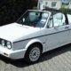 VW Golf Cabrio Oldtimer Hochzeitsauto