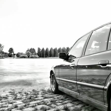 BMW Hochzeitsauto Oldtimer