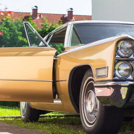 Cadillac DeVille Coupe Oldtimer Hochzeitsauto