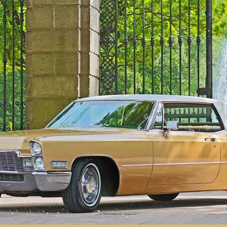 Cadillac DeVille Coupe Oldtimer Hochzeitsauto
