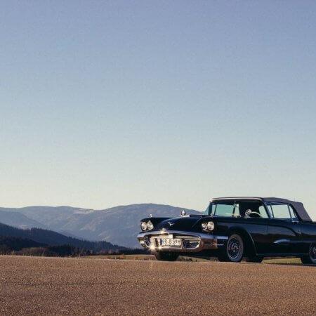 Ford Thunderbird Cabrio Oldtimer Hochzeitsauto