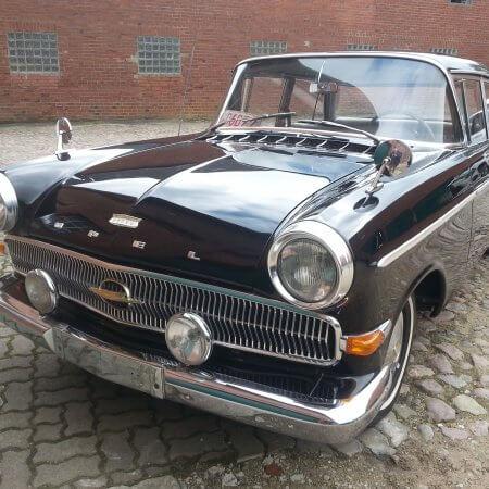 Opel Kapitän Oldtimer Hochzeitsauto