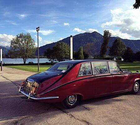 Daimler Oldtimer Hochzeitsauto