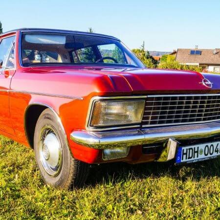 Opel Admiral Oldtimer Hochzeitsauto