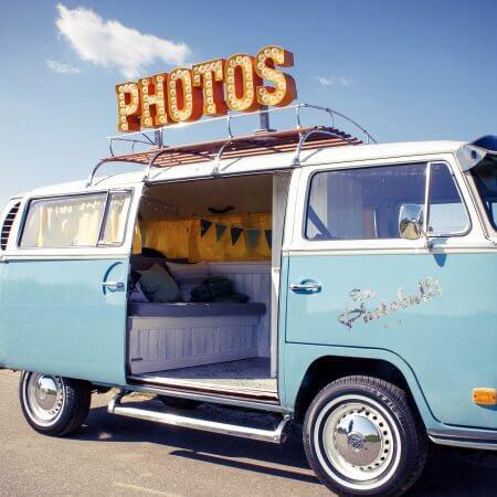 VW BUS T2 Oldtimer Photo Bully Hochzeitsauto
