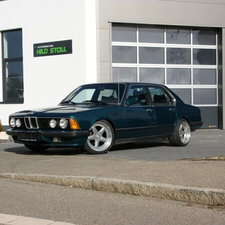 BMW Oldtimer Hochzeitsauto