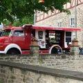 Mercedes Benz Feuerwehrauto Oldtimer Hochzeitsauto