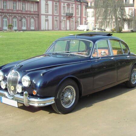 Jaguar MK2 Oldtimer Hochzeitsauto