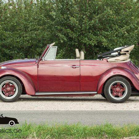 VW Käfer Cabrio Oldtimer Hochzeitsauto