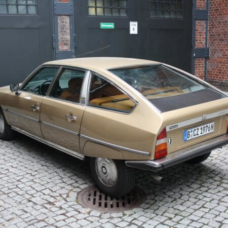 Citrön Pallas Oldtimer Hochzeitsauto
