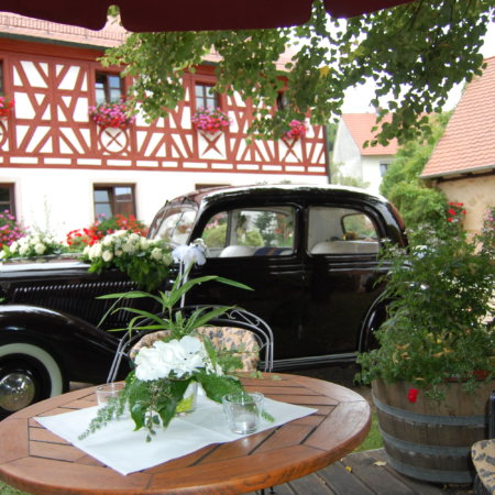 Mercedes 170 Oldtimer Hochzeitsauto