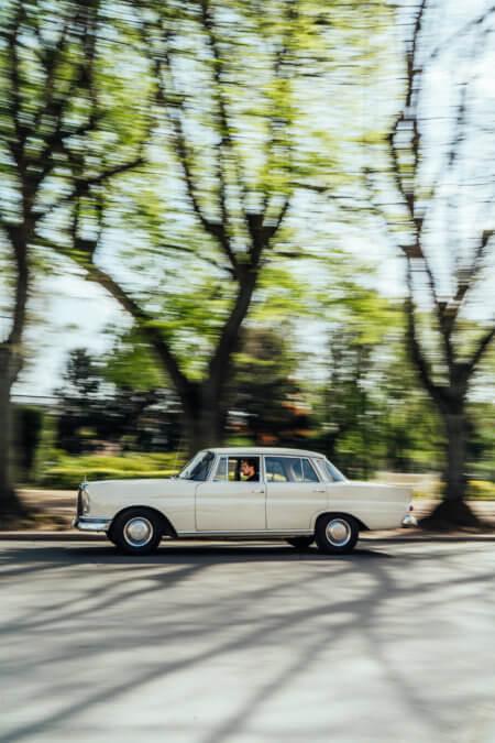 Mercedes Benz 220 Oldtimer Hochzeitsauto