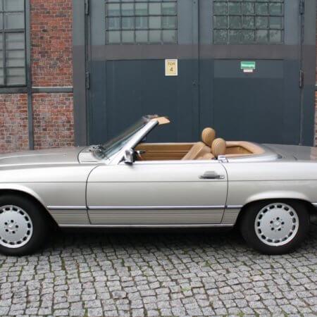 Mercedes 300 SL Oldtimer Hochzeitsauto