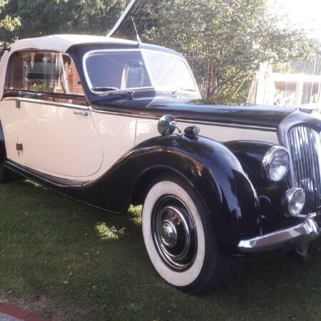 Riley RMD Oldtimer Hochzeitsauto