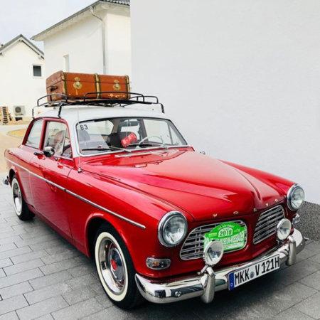 Volvo Amazon Oldtimer Hochzeitsauto