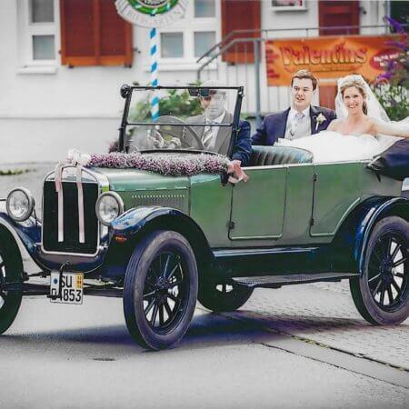 Ford T Modell Oldtimer Hochzeitsauto