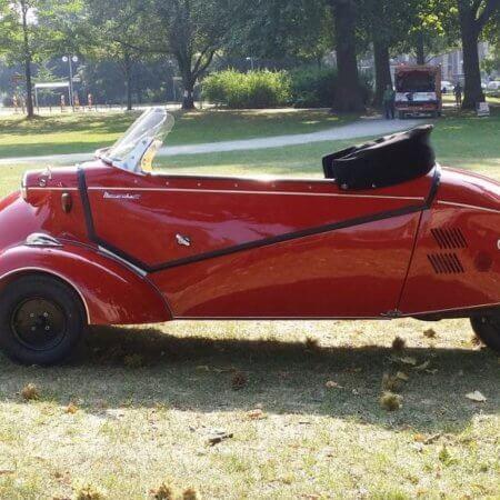 Oldtimer Hochzeitsauto Messerschmitt
