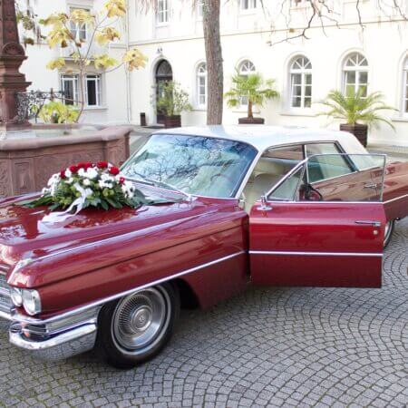 Cadillac Sedan DeVille Hochzeitsauto Oldtimer